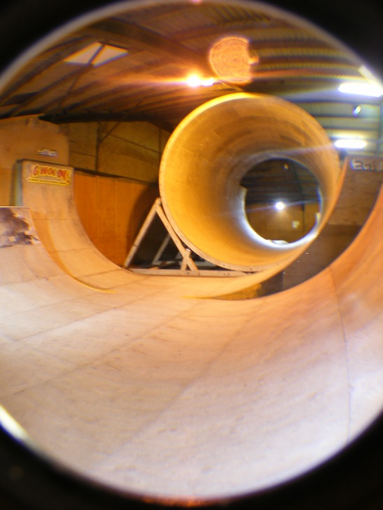 This was also removed from its home in Liverpool and re-built in Blackpool. A fine addition to any skatepark.